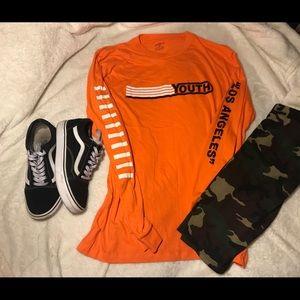 Orange Youth Long Sleeve🔥